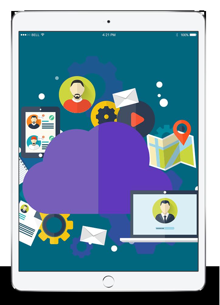 Tablet med digital kvalitetssikring fra Anysense software