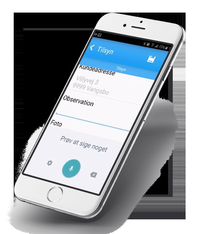 Bedste app med Anysense kvalitetssikring - Mobil app application
